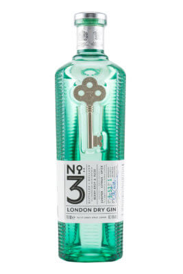 No. 3 London Dry Gin erhält neues Design