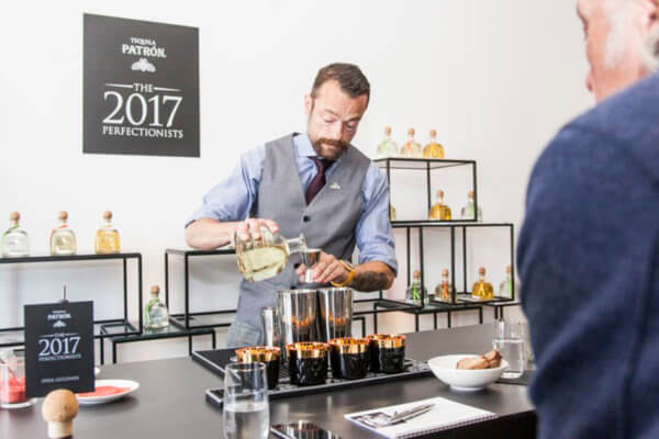 Patrón Perfectionists Cocktail Competition 2020 vor DACH-Finale