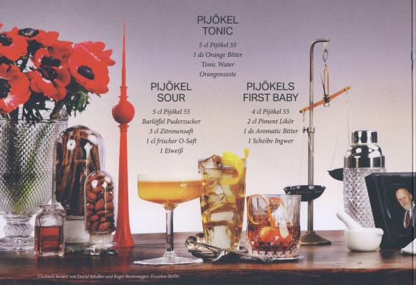 Cocktails zum Pijökel 55
