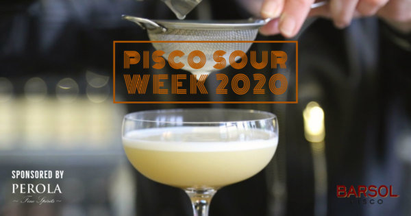Pisco Sour Week 2020