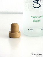Cascajal Pisco Mosto Verde Italia Verschluss