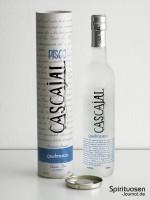 Cascajal Pisco Quebranta Verpackung und Flasche