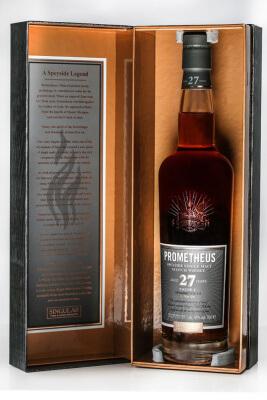 Prometheus 27 Jahre der Glasgow Distillery Company vor Launch