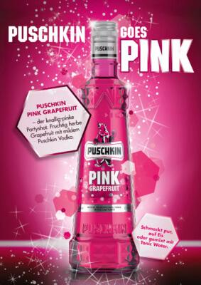Markteinführung von Puschkin Pink Grapefruit