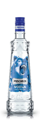 Puschkin Vodka mit neuen Design-Editionen zum Jahresende
