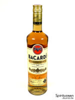 Bacardi Carta Oro Vorderseite