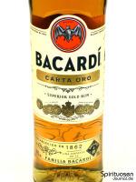 Bacardi Carta Oro Vorderseite Etikett