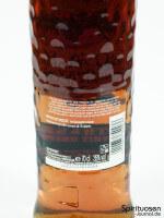 Bacardi OakHeart Rückseite Etikett