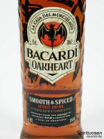 Bacardi OakHeart Vorderseite Etikett