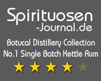 Botucal Distillery Collection No.1 Single Batch Kettle Rum Wertung