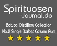 Botucal Distillery Collection No.2 Single Barbet Column Rum Wertung