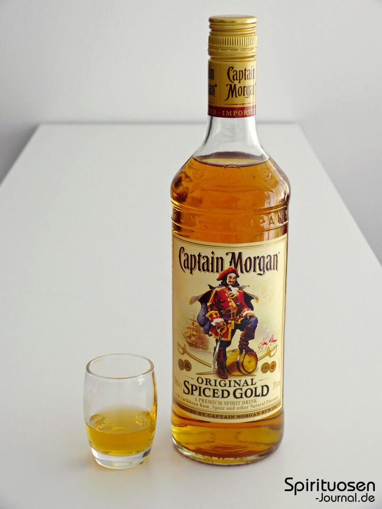 test captain morgan original spiced gold spirituosen. Black Bedroom Furniture Sets. Home Design Ideas