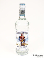 Captain Morgan White Rum Vorderseite