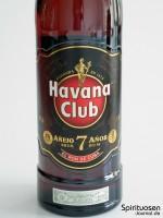 Havana Club Anejo 7 Jahre Vorderseite Etikett