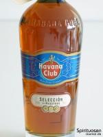 Havana Club Seleccion de Maestros Vorderseite Etikett