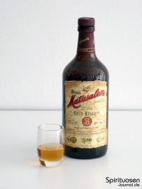 Matusalem Gran Reserva Solera 15 Glas und Flasche