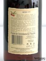 Matusalem Gran Reserva Solera 15 Rückseite Etikett