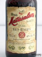Matusalem Gran Reserva Solera 15 Vorderseite Etikett