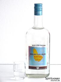 Mount Gay Eclipse Silver Glas und Flasche