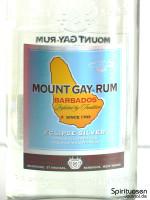Mount Gay Eclipse Silver Vorderseite Etikett