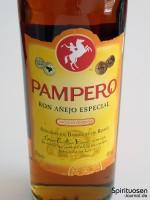 Pampero Ron Anejo Especial Vorderseite Etikett