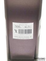 Revolte Rum Rückseite Etikett