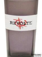 Revolte Rum Vorderseite Etikett