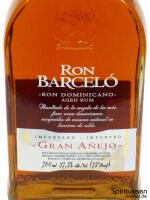 Ron Barcelo Gran Anejo Vorderseite Etikett