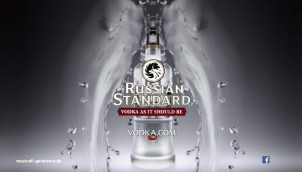 Russian Standard verstärkt Werbemaßnahmen zum Jahresende
