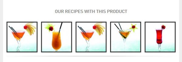 Cocktails mit Saffron Gin