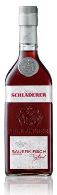 Schladerer Sauerkirsch-Zimt erweitert Liqueur-Range