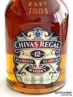 Chivas Regal 12 Jahre Vorderseite Etikett
