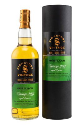 Signatory Vintage Mortlach 2012/2020 Small Batch Cask Strength Edition #1