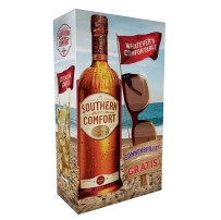 Southern Comfort mit Whatever's-Comfortable-Sonnenbrille im On-Pack