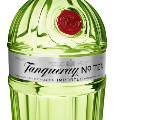 Tanqueray No. TEN ab April mit neuem Flaschendesign
