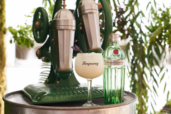 Tanqueray Pineapple Ramos Gin Fizz