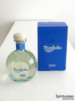 Don Julio Blanco Verpackung und Flasche