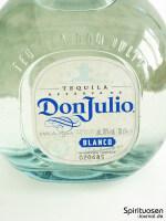 Don Julio Blanco Vorderseite Etikett
