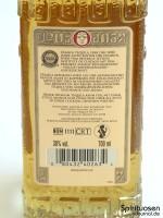 Olmeca Reposado Rückseite Etikett