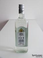 Sauza Tequila Silver Rückseite