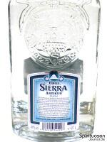 Sierra Antiguo Plata Rückseite Etikett