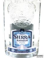 Sierra Antiguo Plata Vorderseite Etikett