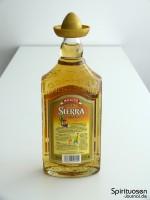 Sierra Tequila Reposado Rückseite
