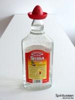 Sierra Tequila Silver Rückseite