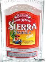 Sierra Tequila Silver Vorderseite Etikett