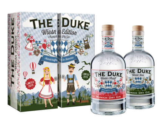 The Duke Gin präsentiert limitierte Wiesn Edition
