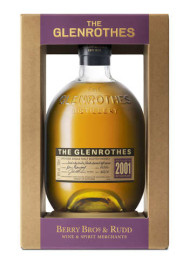 Berry Bros & Rudd Spirits' launcht The Glenrothes Vintage 2001