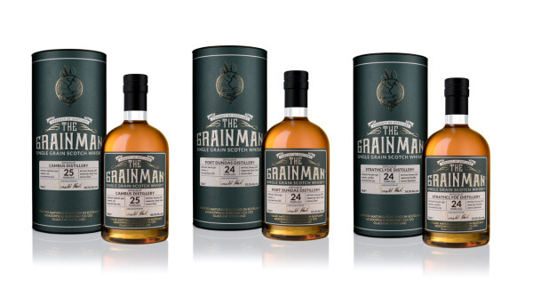 The Grainman Single Cask Grain Whiskys erreichen Handel