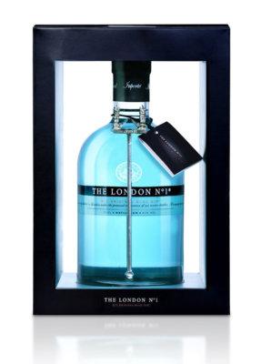 The London No.1 in Geschenkset mit Cocktail-Accessoires