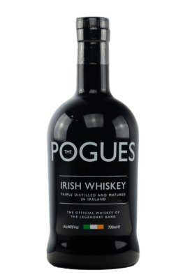 Neuer Look für The Pogues Irish Whiskey
